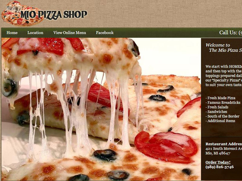 Mio Pizza Shop
